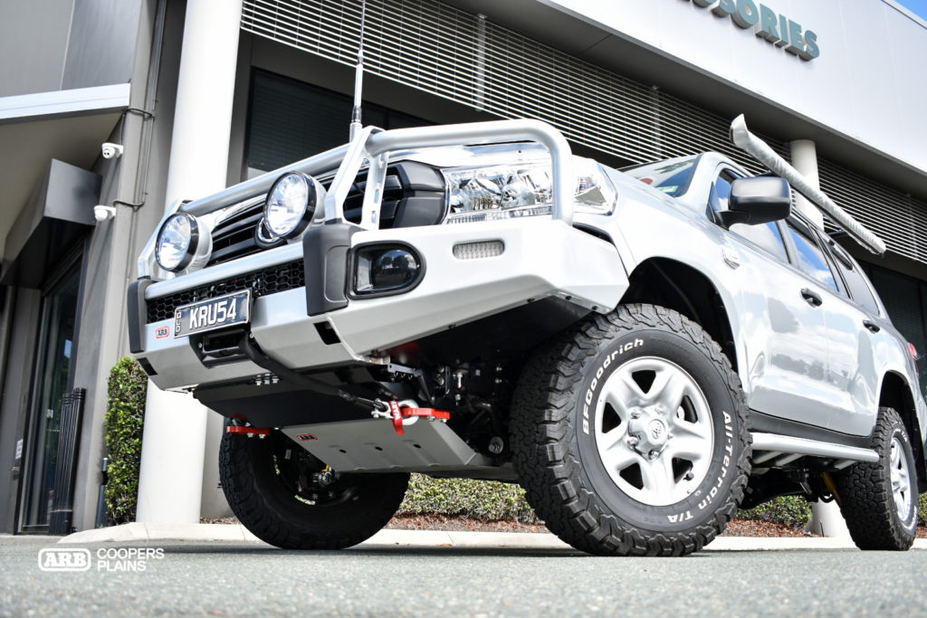 Recovery points offer maximum ratings for snatch or winch recoveries, while the 3mm Under Vehicle Protection (UVP) guards the belly of the beast.