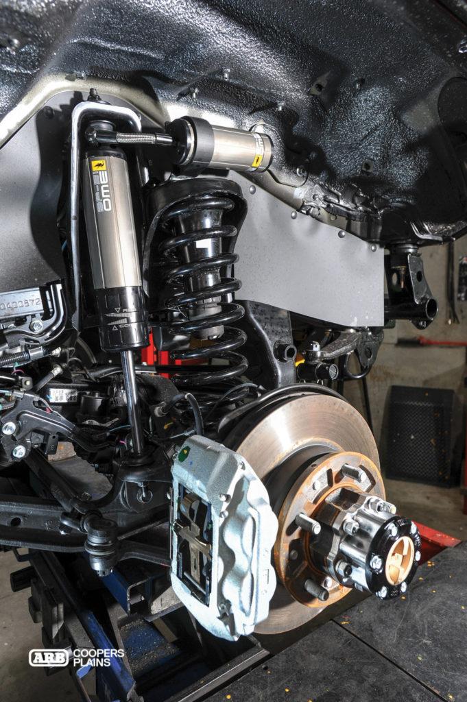 Feature Toyota Landcruiser 79 Series The Dark Knight